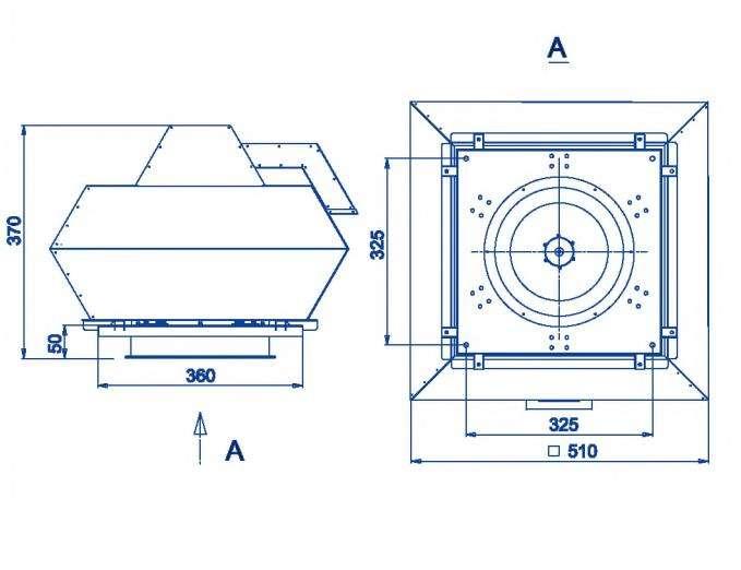 RFF-250/RFF-250-SE размеры