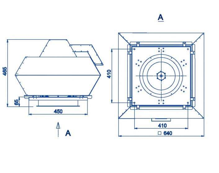 RFF-315/RFF-315-SE размеры