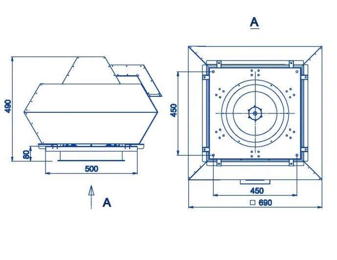 RFF-355/RFF-355-SE размеры
