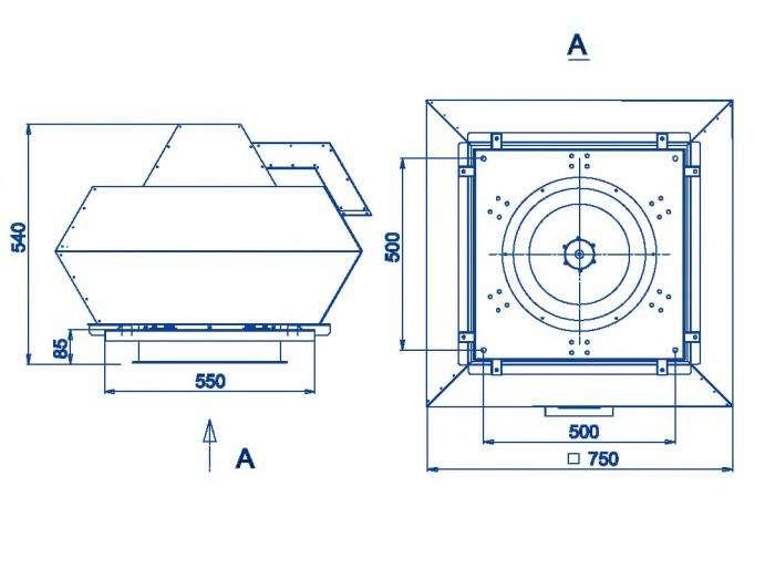 RFF-400/RFF-400-SE размеры