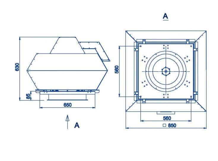 RFF-450/RFF-450-SE размеры
