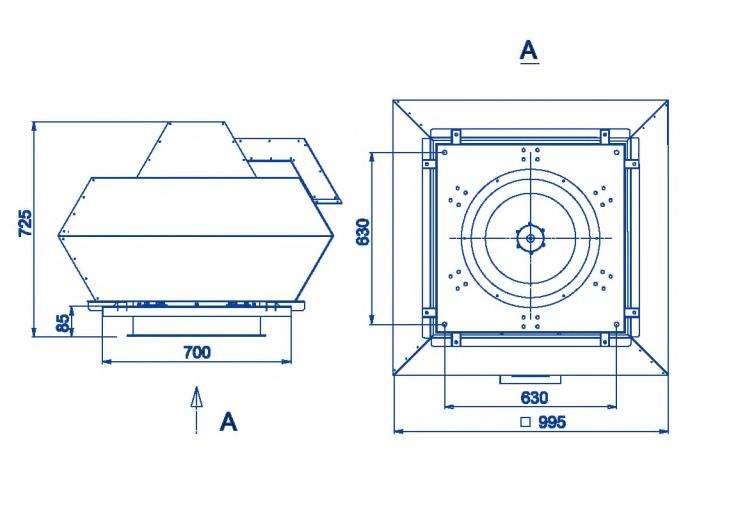 RFF-500/RFF-500-SE размеры