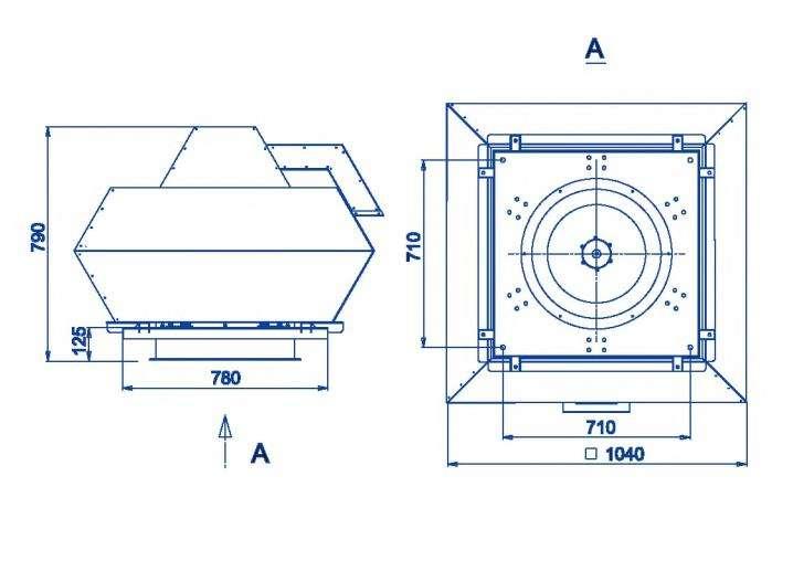 RFF-560/RFF-560-SE размеры