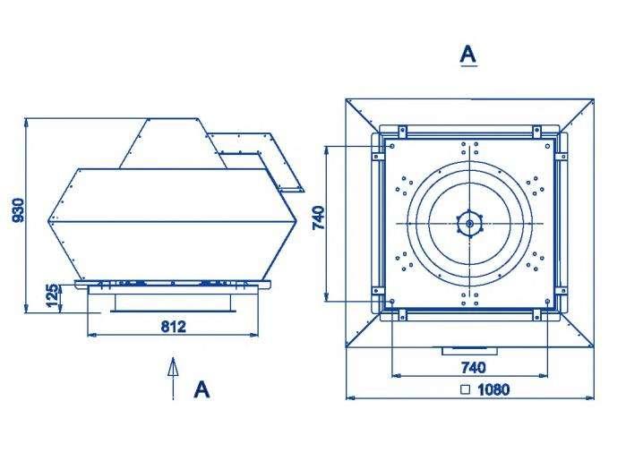 RFF-630/RFF-630-SE размеры