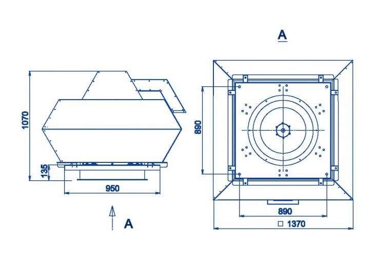 RFF-710/RFF-710-SE размеры