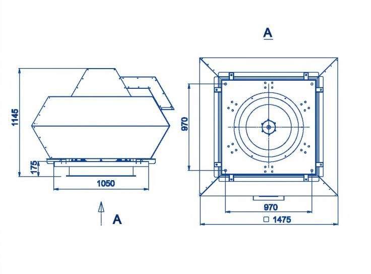 RFF-800/RFF-800-SE размеры