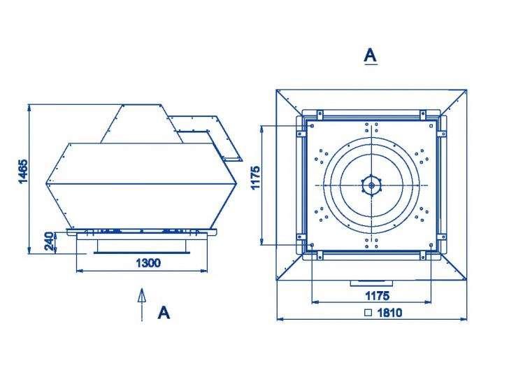 RFF-1000/RFF-1000-SE размеры