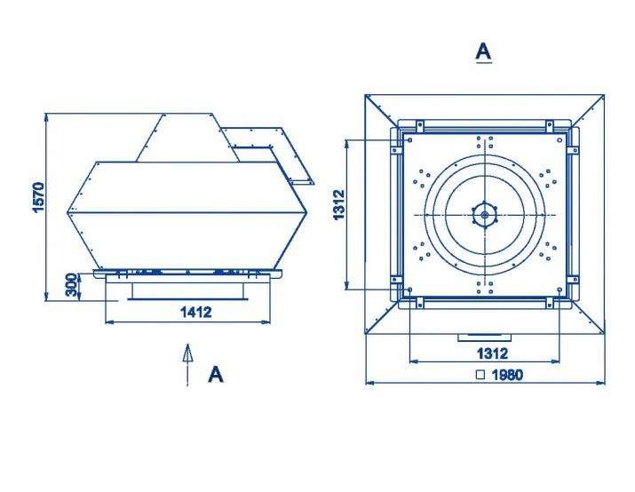 RFF-1120/RFF-1120-SE размеры
