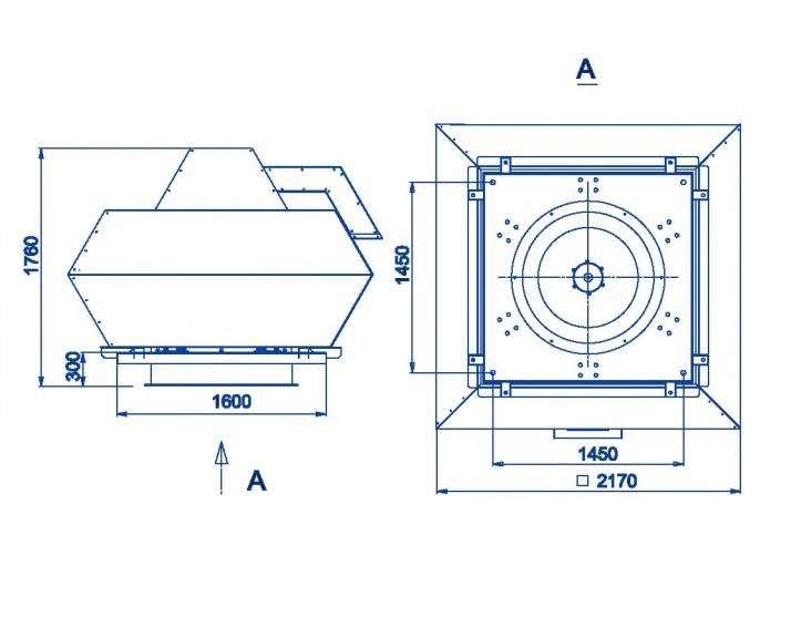 RFF-1250/RFF-1250-SE размеры