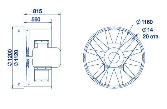 AXF-1120 размеры