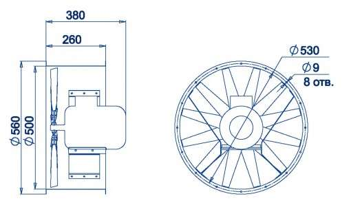 AXF-500 размеры