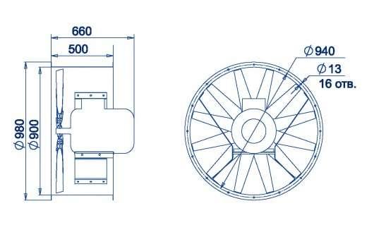 AXF-900 размеры